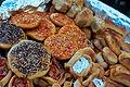 lebanese platter of savory breads