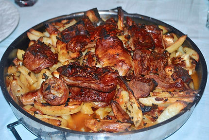 Delicious Cooked Peka, Peka Recipe, Croatian Traditional Recipes