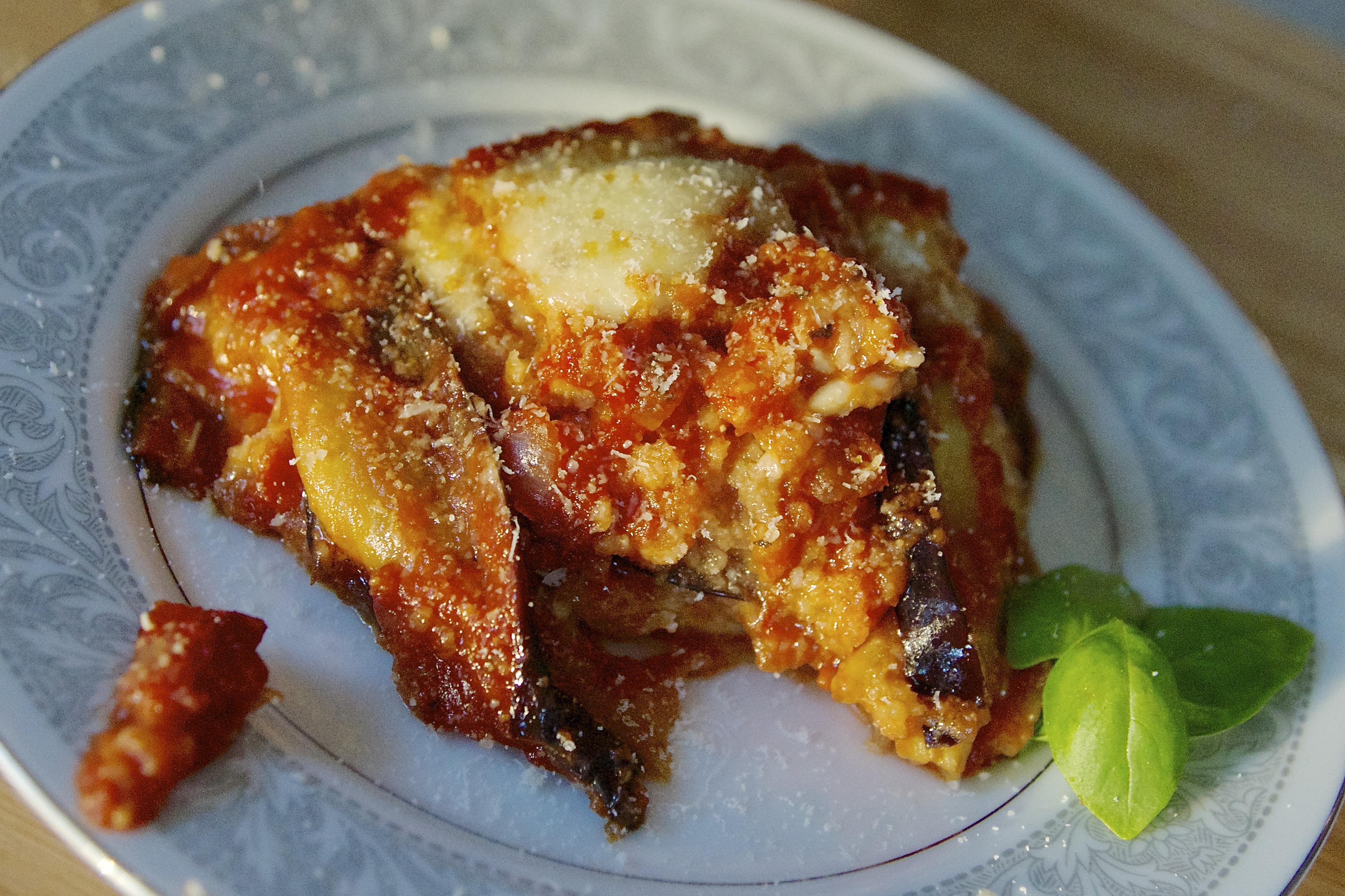 Rosa's Eggplant Parmesan Recipe