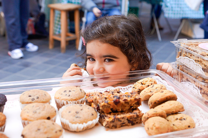 Hanan's daughter , Passion for Dessert, Beirut, Lebanon