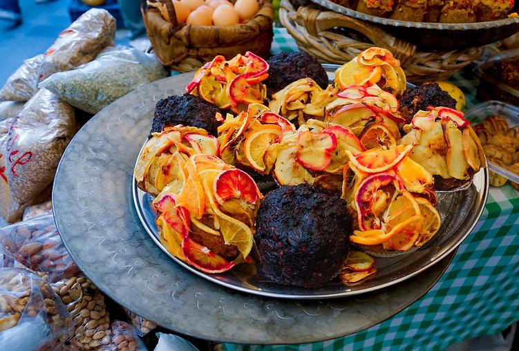Lebanese cupcakes, Souk el Tayeb, Beirut, Lebanon