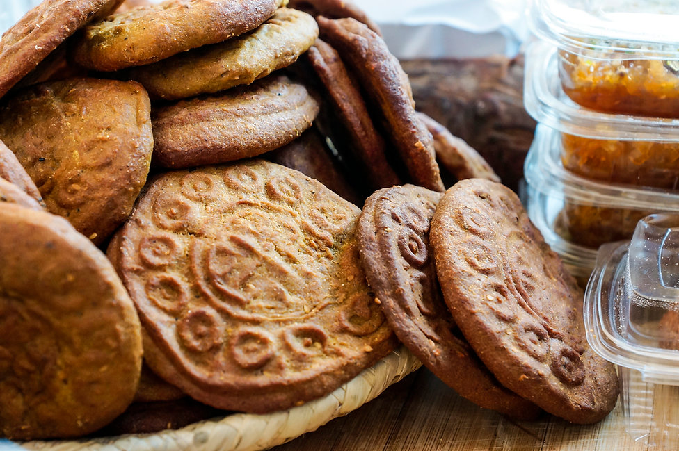 Lebanese cookies, Souk el Tayeb, Beirut, Lebanon