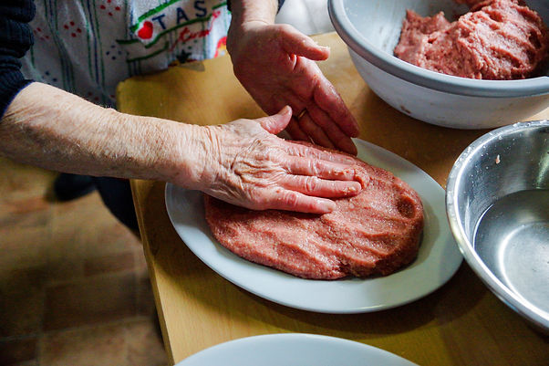 Melting Butter, Fwereh Lebanese Sausage Recipe