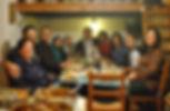 Cyprus Family Enjoying Traditional Meal