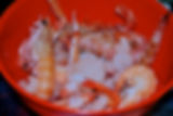 Scampi and Shrimp for Ante's White Scampi Risotto Recipe, Konoba Lukin, Supetar, Brač, Croatia