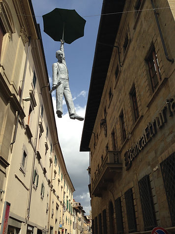 Umbrella Statue, Italy