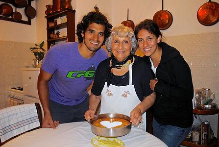 The Recipe Hunters with Anna and the Torta di RIso in Reggio Emiglia, Italy