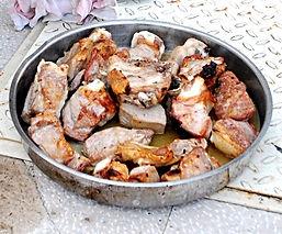 Browned veal, Peka Recipe, Croatian Traditional Recipes
