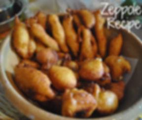 Zeppole Recipe, Caulonia, Calabria, Italy