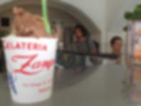 Gelateria Zampolli, Best Ice Cream in Italy, Trieste, Italy