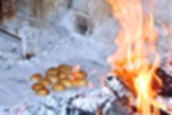 Potatoes ala Peka, Konoba Kopačina, Donji Humac, on the island of Brač, Croatia