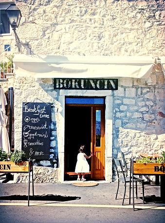 Entrance to Konoba Bokuncin, Sutivan, Brač, Croatia