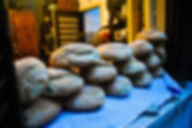 Bread on windowsill, Cyprus Bakery