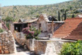Village View on the Island of Brač off the coast of Croatia