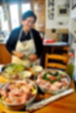Aysan and her Firin Kebab, traditional Cyprus recipe