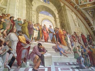 School of Athens, Raphael, Italy