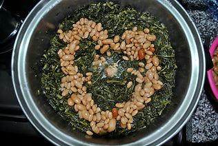 Chicory Heart - Wild Chicory and Cannellini Beans Recipe