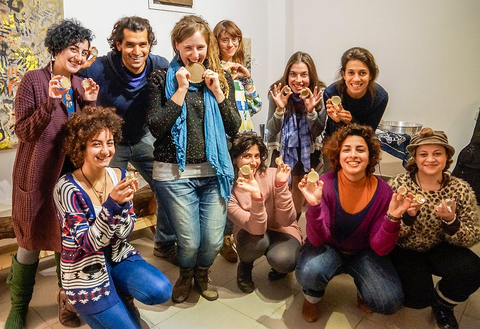 Anabel and her Organic Workshop, Beirut, Lebanon