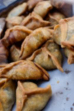 Lebanese spinach pies, Souk el Tayeb, Beirut, Lebanon