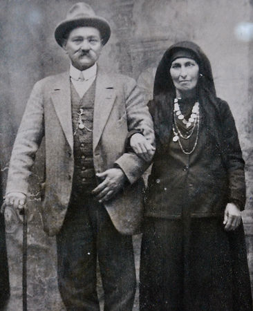 Sophocles Athanasiou and wife, cyprus delights