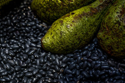 beans and avocadoes