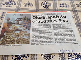 Hrapoćuša Festival, Dol, Brač, Croatia
