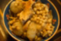 Moghrabieh in bowl, Moghrabieh Recipe, Lebanese food, Beirut, Lebanon