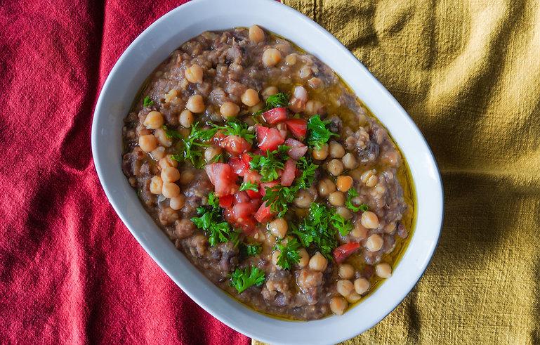 foule recipe, lebanon