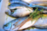 Domina's Fresh Fish from the Market in Supetar and a few twigs of rosemary, Brač, Croatia