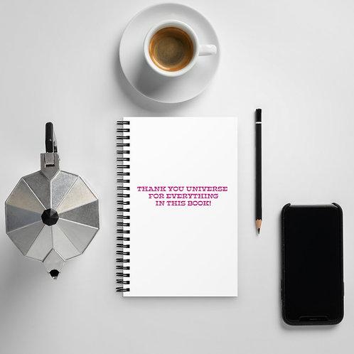 Manifesting Notebook