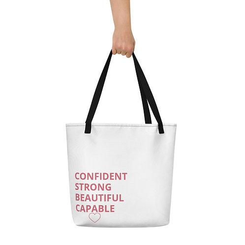 Motivational Beach Bag