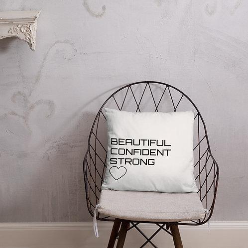 Motivational Basic Pillow