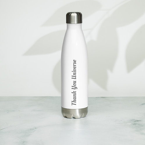 Thank You Universe Stainless Steel Water Bottle