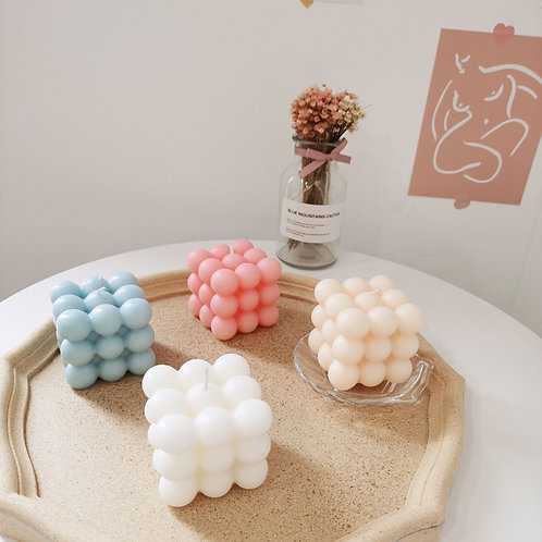 Cube Candle Mould Soy Wax with Essential Oils