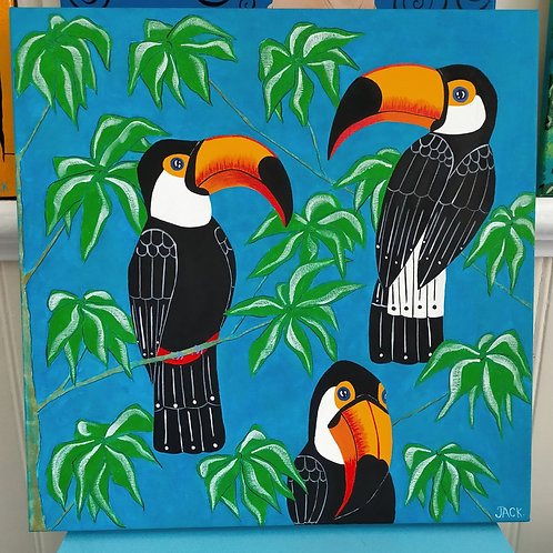 Toucans in the Canopy