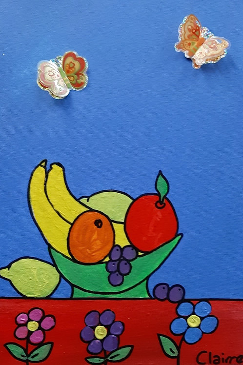 Fruit Bowl Still Life - Art Kit