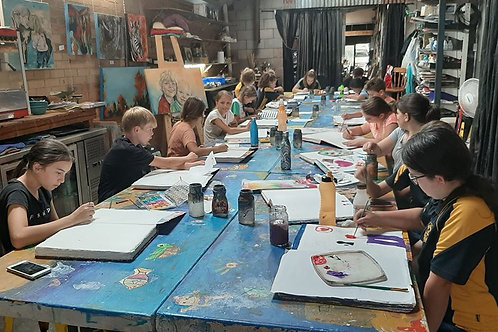 Young Peoples Art Classes from....