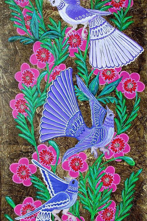 Birds & Blooms 3