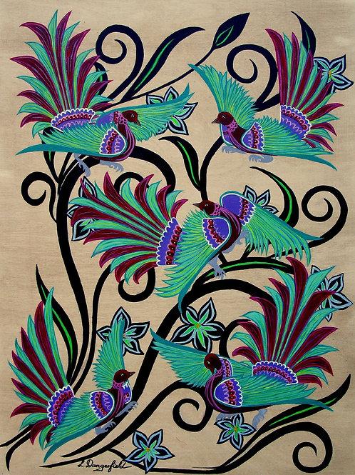 Birds & Blooms 5