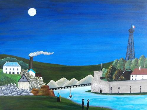 La Seine a Suresnes (after Henri Rousseau)