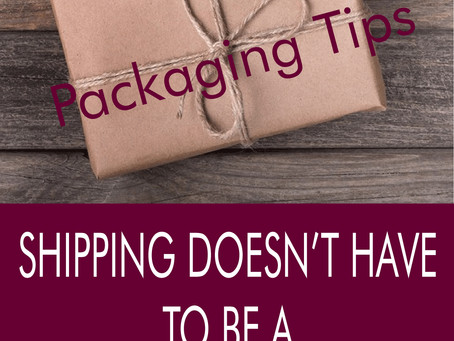 Splatter tips on packaging your Artwork