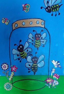 Bees in a Jar