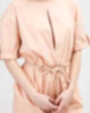 Fashionable Beige Dress