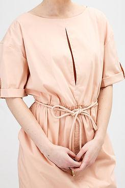 Moda vestido bege