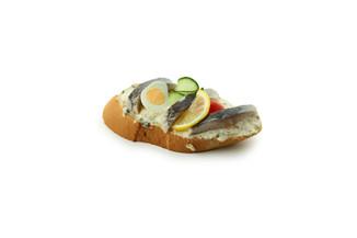 Sandwich mit Matjes