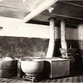 Die Alte Mischerei in der Bäckerei der MüllerGartner Zentrale.