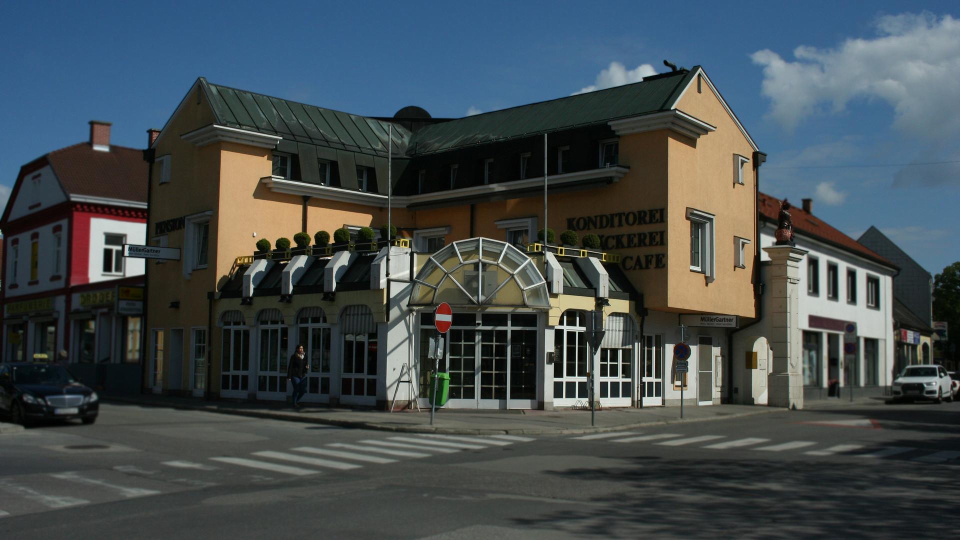 Unser Hotel Garni in der Rathausstraße