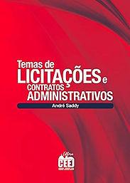TEMAS DE LICITAÇÕES E CONTRATOS ADMINIST