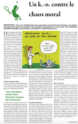 Article sur le harcèlement sexuel réalisé par l'Université de Lausanne. Les cours de Self Défens