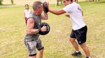 Cours semi-privés de self défense mixte méthode ADAC France